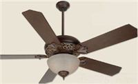 "MI52AGVM - 52""Agd BRZ/VNT Mdra Mia Fan - Craftmade International I"