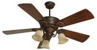 "CP52AG - 52""Agd BRZ CHPPL Fan- Lone Star Fan - Craftmade International I"
