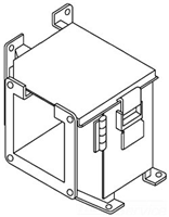 F44LE9AC - Top Opn 90D Ell - Hoffman Enclosures, Inc.