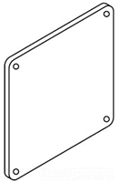 F22LP - Jic Lay-In Wireway End - Hoffman Enclosures, Inc.