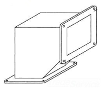 F66WE90 - Jic 90D Wireway Ell - Hoffman Enclosures, Inc.