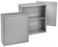 A242412UC - STL/Gry LKG Util Box - Hoffman Enclosures, Inc.