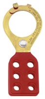 45201 - Tempered-Steel Lockouts W/ Interlocking Tabs, 1-1/ - Klein Tools