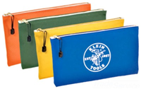 "5140 - 12-1/2""X7"" Canvas Zipper Bags - Klein Tools"
