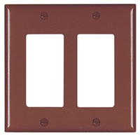 TP262 - 2G Decor Plate - Pass & Seymour/Legrand