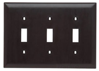 TP3LA - 3G Switch Plate - Pass & Seymour/Legrand