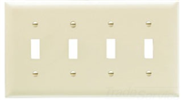 TP4LA - 4G Switch Plate - Pass & Seymour/Legrand