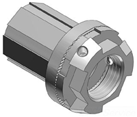 "H050TBH - 1/2"" DC Zinc Hub - Thomas & Betts"