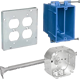 Conduit Accy - Outlet Boxes, Covers & Bar Hangers