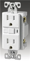 VGF15WM - 15A White Gfci Receptacle - Cooper Wiring Devices