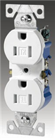 270LA - 15A 125V Res Duplx Receptacle - Cooper Wiring Devices
