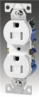270V - 15A 125V Res Duplex Receptacle - Cooper Wiring Devices